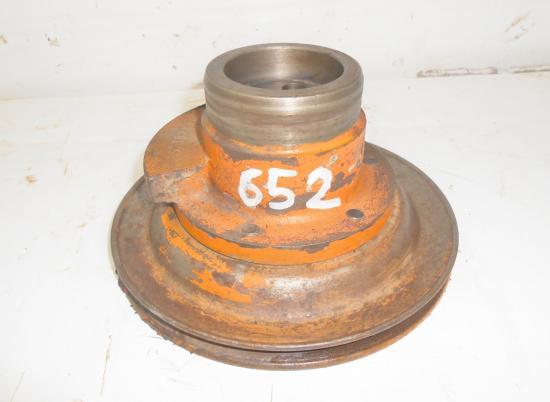 Poulie moteur type d227 4 d227 4 vilebrequin tracteur renault 651 652