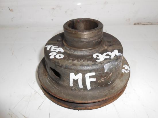 Poulie moteur vilebrequin tracteur tea20 tea 20 3 cylindres diesel