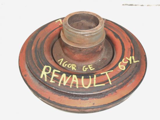 Poulie vilebrequin damper moteur mwm renault 6 cylindres