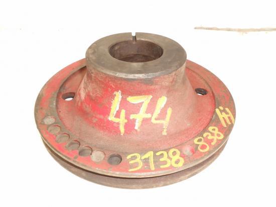 Poulie vilebrequin moteur ih international mccormick 474
