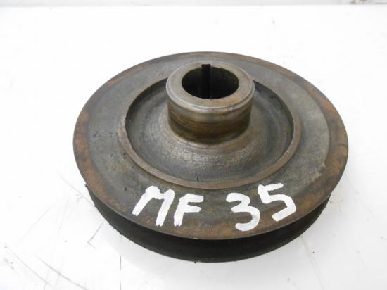 Poulie vilebrequin moteur tracteur massey ferguson mf 35 835 ds 835ds
