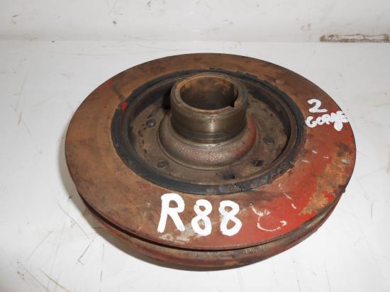 Poulie vilebrequin moteur tracteur renault 88 r88