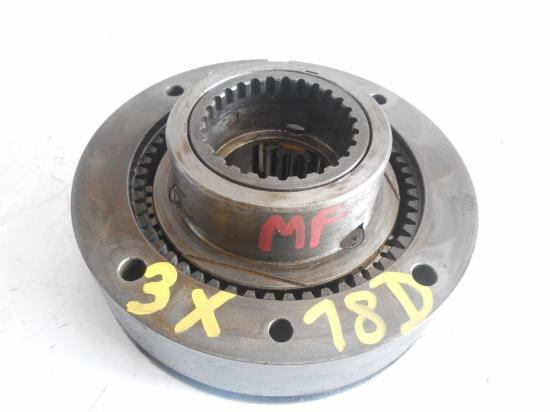 Reducteur de boite de vitesse tracteur massey ferguson mf 18 dents