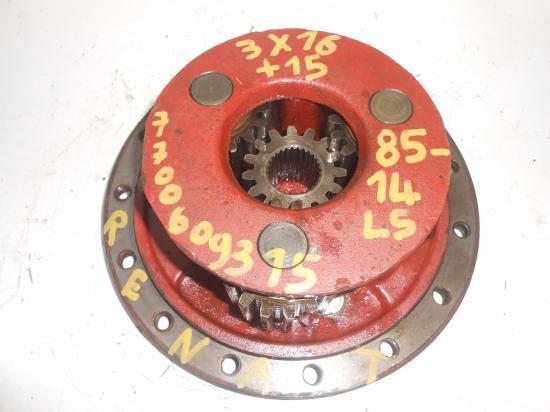 Reducteur de roue pont avant 4x4 tracteur renault 8514 85 14 85 14 ls