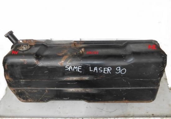 Reservoir carburant tracteur agricole same laser 90 laser90 droit