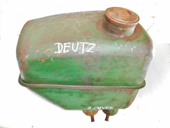 Reservoir carburant tracteur deutz d40 d50 2 cuves