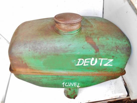 Reservoir tracteur deutz d40 1 cuve
