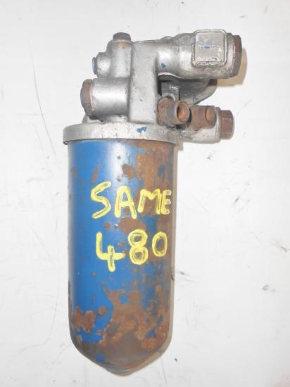 Support filtre a huile tracteur same 480 ariete