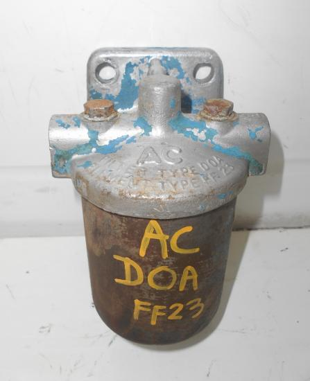 Support filtre fuel carburant tracteur fordson ac doa