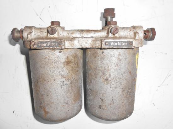 Support filtre fuel gasoil tracteur bolinder 350