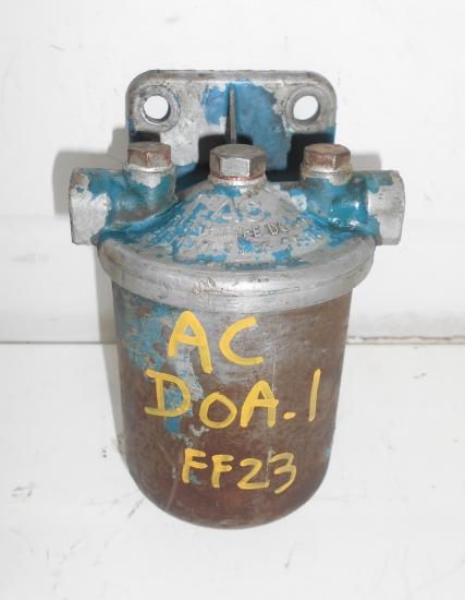 Support filtre fuel tracteur fordson ford ac doa1