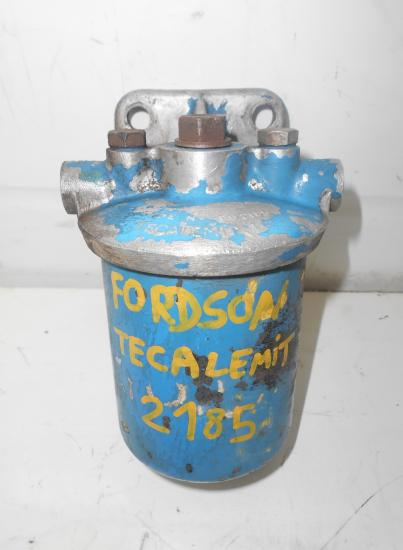 Support filtre fuel tracteur fordson tecalemit 2185