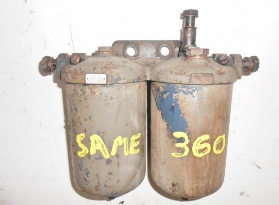 Support filtre gasoil tracteur same 360