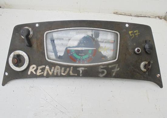 Tableau de bord tracteur renault 57 r57