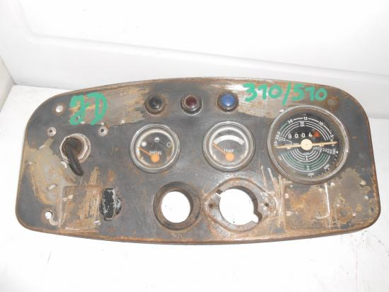 Tableau de bord tracteur john deere 310 510 710