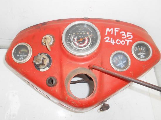 Tableau de bord tracteur massey ferguson mf 35 835