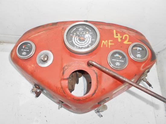 Tableau de bord tracteur massey ferguson mf 42