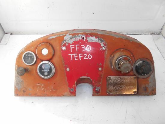 Tableau de bord tracteur massey ferguson mf ff30 ds tef20 diesel