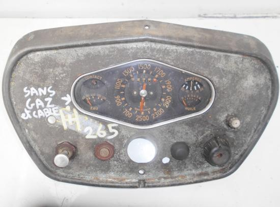Tableau de bord tracteur mc cormick utility farmall f fu 265 d f265d