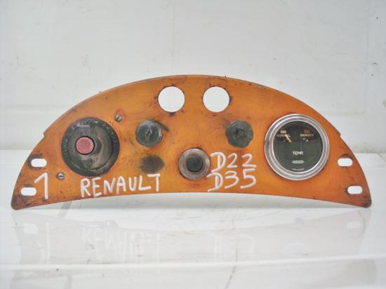 Tableau de bord tracteur renault d22 d35