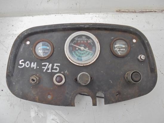 Tableau de bord tracteur someca 715