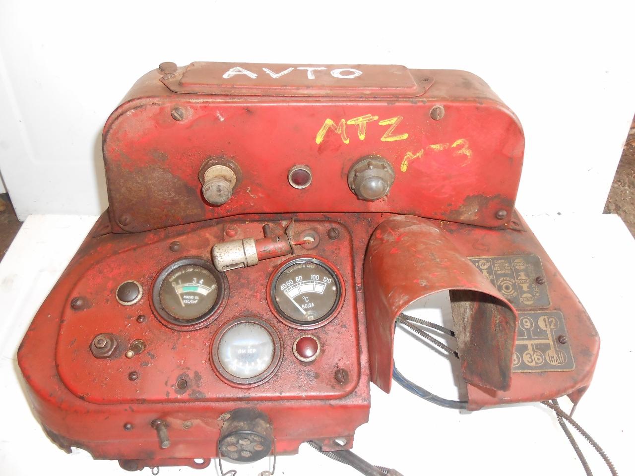 tableau de bord tracteur avto belarus mtz 50 52