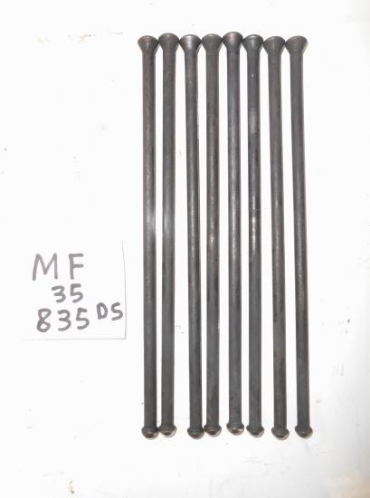 Tiges de culbuteur moteur tracteur massey ferguson mf 835ds 835 ds 35 4 cylindres