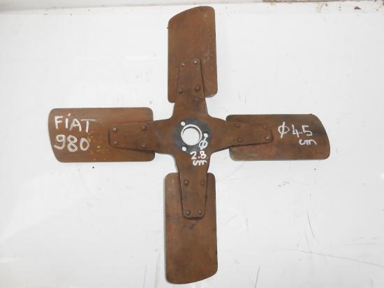Ventilateur pale tracteur agricole fiat 980