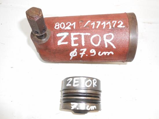 Verin cylindre piston de relevage tracteur zetor 79 mm